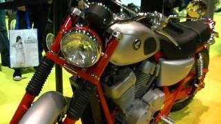 8. Custom 2011 Honda Shadow VT750S Scrambler and Dirt Tracker Motorcycles