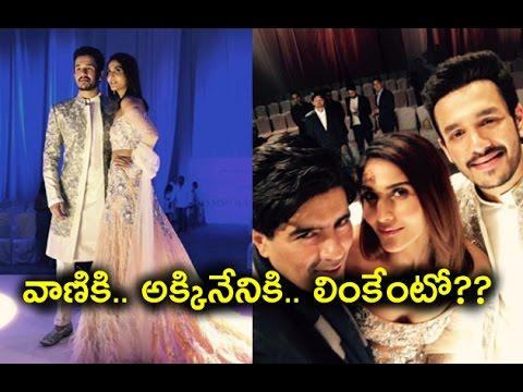 Akhil Akkineni and Vaani Kapoor walked the ramp | వాణికి.. అక్కినేనికి.. లింకేంటో??
