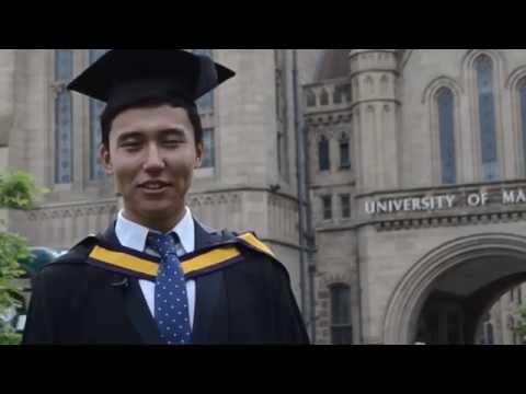INTO Manchester Alumnus Graduation at The University of Manchester - Berik Uap