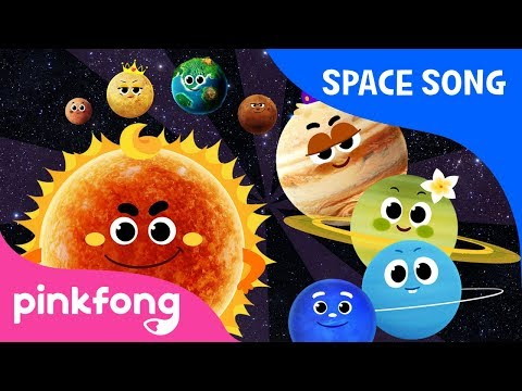 Eight Planets   Space Song   Pinkfong Songs for Children