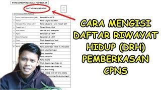 Download Video CARA MENGISI DAFTAR RIWAYAT HIDUP (DRH) PEMBERKASAN CPNS DAN PPPK MP3 3GP MP4