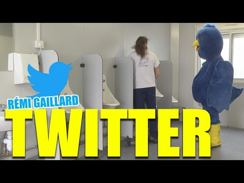 Follow me on Twitter (Rémi Gaillard) official