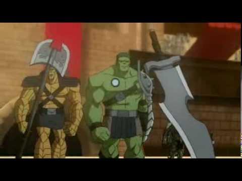 Planet Hulk (2010) Trailer