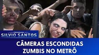 બ્રાઝિલ: સૌથી ડેન્જર PRANK, ટ્રેનમાં મહિલા પર Zombie Attack
