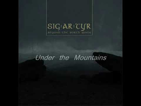 SIG:AR:TYR - Under the Mountain online metal music video by SIG:AR:TYR