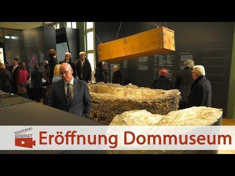 Magdeburg: Eröffnung des Dommuseums