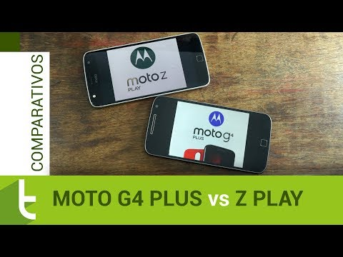 Comparativo: Moto G4 Plus vs Moto Z Play  Review do TudoCelular