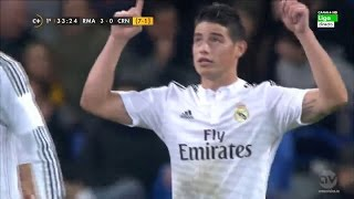 James Rodriguez vs Cornella Home HD 720p (02/12/2014)