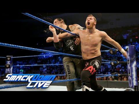 Sami Zayn vs. Baron Corbin: SmackDown LIVE, June 27, 2017_Sport videók