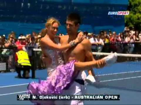 Funniest Action At The Australian Open 2011