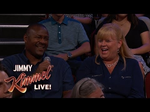 Behind the Scenes with Jimmy Kimmel & Audience (Firefighter from Virginia)