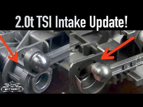 2.0t TSI Intake Manifold UPDATE!