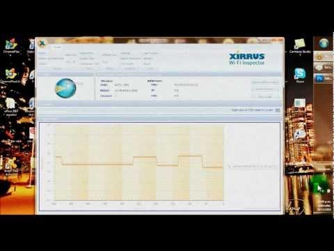 Hackear redes de 4dijitos con Xirrus-wifi-Inspector