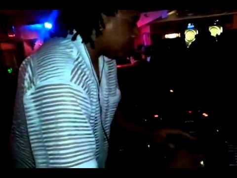 DJ Freddie Fresh rocking the spot @ The Point Nightclub 7-3-2011