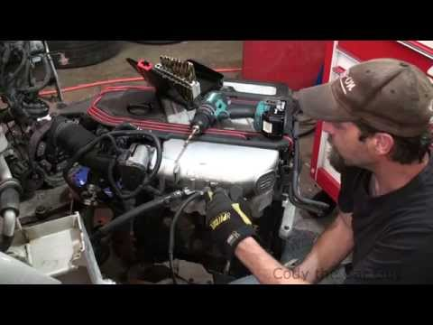 How to repair broken vacuum fittings on plastic intakes