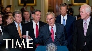 The Senate has blocked a wide-ranging proposal by Republicans to repeal much of former President Barack Obama's health care law and replace it with a more restrictive plan.Subscribe to TIME ►► http://po.st/SubscribeTIME Get closer to the world of entertainment and celebrity news as TIME gives you access and insight on the people who make what you watch, read and share.https://www.youtube.com/playlist?list=PL2EFFA5DB900C633F Money helps you learn how to spend and invest your money. Find advice and guidance you can count on from how to negotiate, how to save and everything in between.https://www.youtube.com/playlist?list=PLYOGLpQQfhNKdqS_Wccs94rMHiajrRr4W Find out more about the latest developments in science and technology as TIME's access brings you to the ideas and people changing our world.https://www.youtube.com/playlist?list=PLYOGLpQQfhNIzsgcwqhT6ctKOfHfyuaL3 Let TIME show you everything you need to know about drones, autonomous cars, smart devices and the latest inventions which are shaping industries and our way of livinghttps://www.youtube.com/playlist?list=PL2862F811BE8F5623 Stay up to date on breaking news from around the world through TIME's trusted reporting, insight and accesshttps://www.youtube.com/playlist?list=PLYOGLpQQfhNJeIsW3A2d5Bs22Wc3PHma6CONNECT WITH TIMEWeb: http://time.com/Twitter: https://twitter.com/TIMEFacebook: https://www.facebook.com/time Google+: https://plus.google.com/+TIME/videosInstagram: https://www.instagram.com/time/?hl=enMagazine: http://time.com/magazine/Newsletter: time.com/newsletterABOUT TIMETIME brings unparalleled insight, access and authority to the news. A 24/7 news publication with nearly a century of experience, TIME's coverage shapes how we understand our world. Subscribe for daily news, interviews, science, technology, politics, health, entertainment, and business updates, as well as exclusive videos from TIME's Person of the Year, TIME 100 and more created by TIME's acclaimed writers, producers and editors. Senate Republicans Have Turned Down Their First Option To Repeal And Replace Obamacare  TIMEhttps://www.youtube.com/user/TimeMagazine