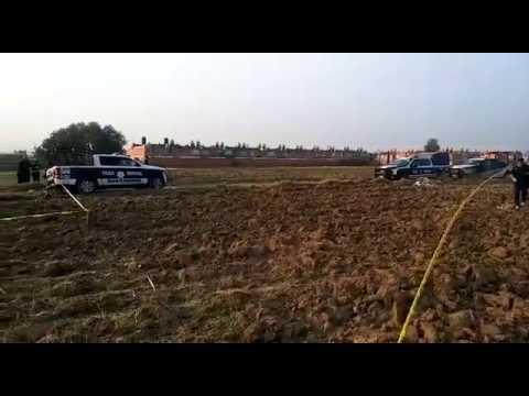 Aparecen dos vehículos calcinados en Cuautlancingo - mayo 17