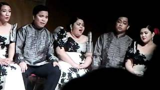 Philippine Madrigal Singers - SEMPURNA (solo: Kitbielle Pasagui) Video