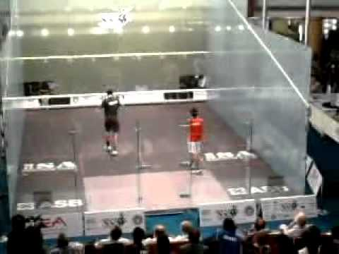 U 21 Squash world cup Final 2012 3