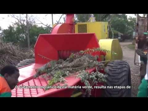 Produção de compostagem para adubo orgânico com o Picador Florestal PFL  400 x 700 M