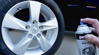 Video How To Spray Paint Wheels Like a PRO! MP3, 3GP, MP4, WEBM, AVI, FLV Juni 2019