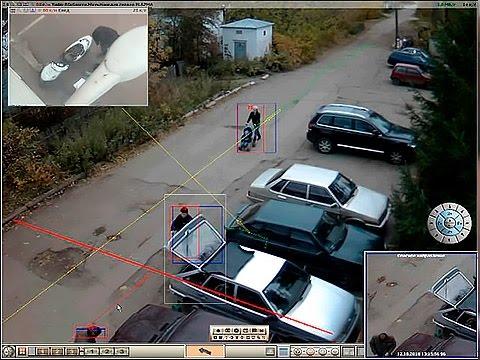 Аналитический видеодетектор объектов