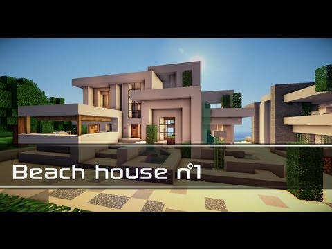 Modern beach house 2 minecraft project for Modern home projects