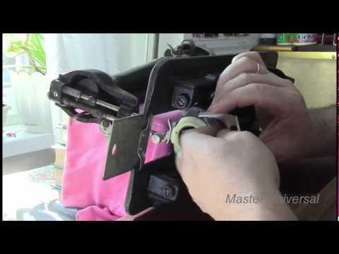 Ручная швейная машинка часть 1 и 2 профилактика ремонт
