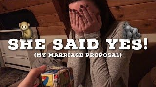 Download Lagu SHE SAID YES!  My Marriage Proposal To Alissa! | Daddyphatsnaps Mp3