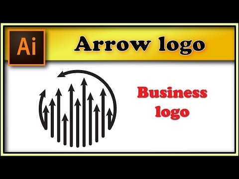 ⬆️⬆️⬆️Arrow Round Logo - Adobe Illustrator Tutorial