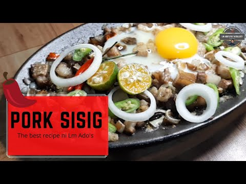 Spicy Pork Sisig Recipe 🌶 The Best Sizzling Pork Sisig!