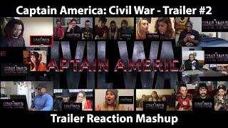 Video Captain America: Civil War - Trailer #2 (Reaction Mashup) MP3, 3GP, MP4, WEBM, AVI, FLV Juni 2018