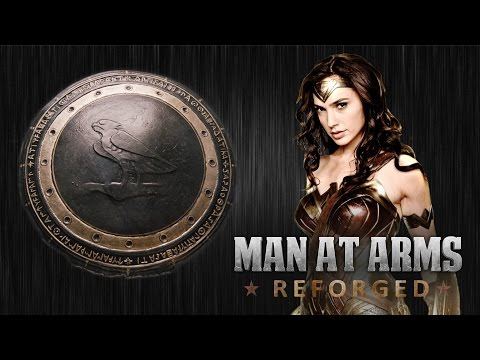 Master Blacksmiths Recreate Wonder Woman s Shield