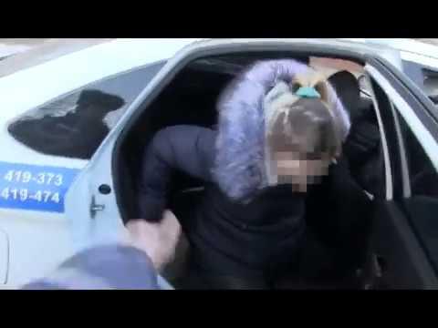 Ижевск. Управление ТС женщиной, находящейся в состоянии опьянения (видео)