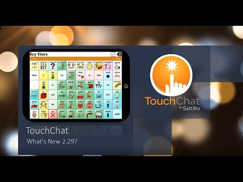 Thumbnail image for video titled 'TouchChat: What's New 2.29'