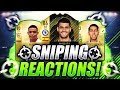 FIFA 18 | NEW OP SNIPING FILTERS 🔥 10K PROFIT FROM 1 SNIPE 😱 SNIPING REACTIONS EP2 🐧