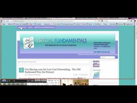 Screencast O Matic.com - http://www.virtualfundamentals.com Tutorial on Screencast-o-Matic Free. Learn how to record a video using your computer screen.
