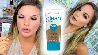 NEW COVERGIRL MATTE BB CREAM! | First Impression + Updates | Casey Holmes by Casey Holmes