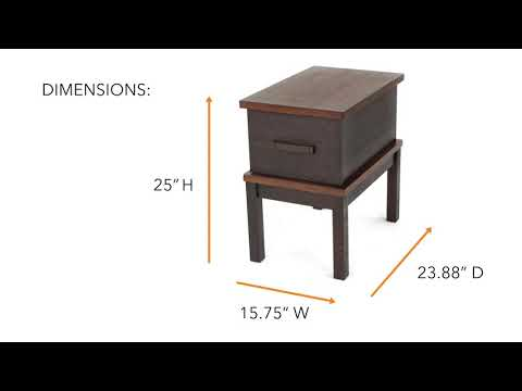 Stanah T892-7 Chair Side End Table