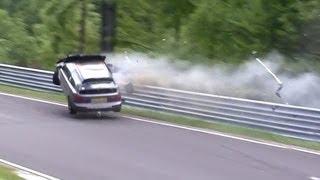 Crazy Honda Civic Accident