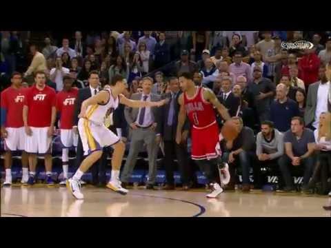 Video: Derrick Rose Scores Game-Winning Jumper to Cool Down Warriors