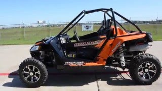 2. 2014 Arctic Cat  Wildcat 1000 EPS Orange Metallic