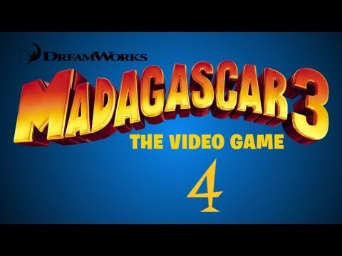 Madagascar 3: The Video Game Walkthrough Part 4 (Rome: Ultimate Set of Tools)