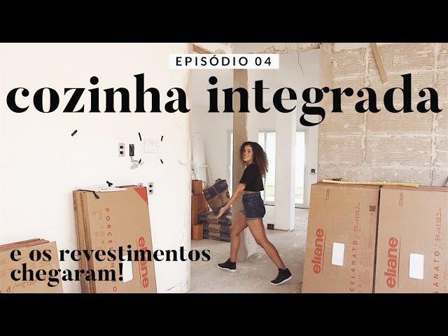 DIÁRIO DA OBRA: TUDO INTEGRADO, REVESTIMENTOS E EMOÇÃO... - Rayza Nicácio
