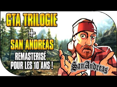 san - GTA San Andreas Remasterisé 720HD + GTA TRILOGIE ( GTA lll, Vice City & San Andreas ) à - 40% ( Durée Limitée ! ) Rejoins la nouvelle chaîne communautaire entièrement dédiée à GTA5...