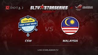 Malaysia vs CSW, game 1