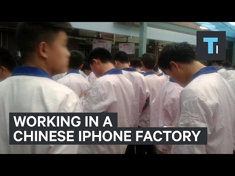 Man Works Undercover in iPhone Factory
