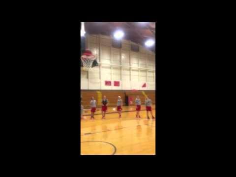 Lauren Layup Challenge - Hiram College 2015-16