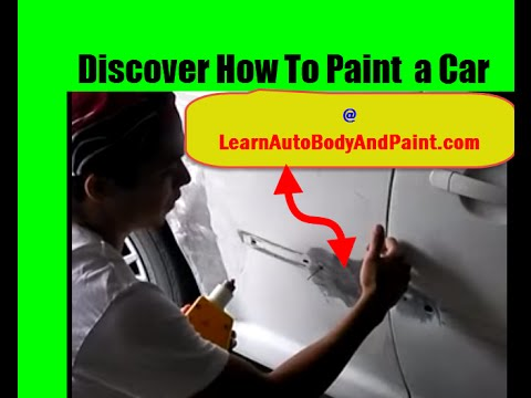 Discover How to Paint a Car at LearnAutoBodyandPaint.com