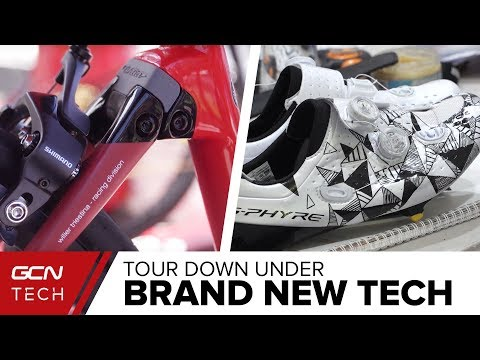 New Helmets, Custom Shoes & Concept Bikes | The Latest Pro Cycling Tech At The Tour Down Under